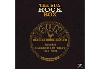 VARIOUS - The Sun Rock Box - (CD + Buch)