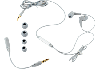 ISY IIE 1100 In Ear GSM Headset grau