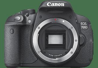 CANON EOS 700D Gehäuse Spiegelreflexkamera, 18 Megapixel, CMOS Sensor, nur Gehäuse, Autofokus, Schwarz