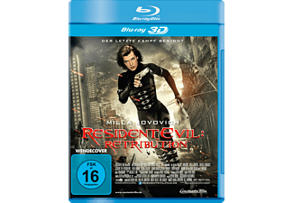 Resident Evil Retribution [3D Blu-ray]