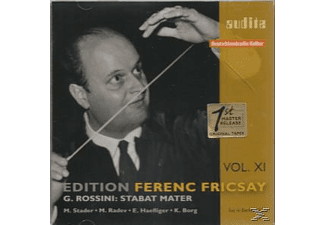 Ferenc Fricsay, Stader,M./Haefliger,E./Riasso/Fricsay,Ferenc/+ - Stabat Mater - (CD)