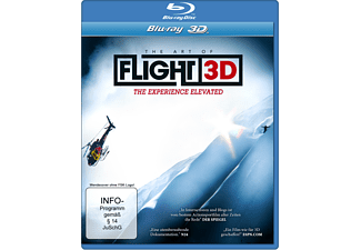 The Art Of Flight (3D, Exklusivedition im Schuber mit Lenticularcard) [3D Blu-ray]
