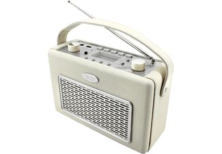 SOUNDMASTER TR50BE Kofferradio (UKW, MW, Vanille)