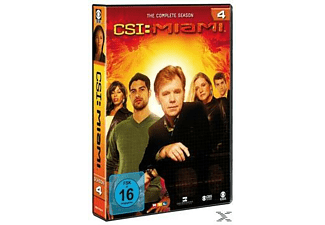 CSI: Miami - Staffel 4 (komplett) - (DVD)