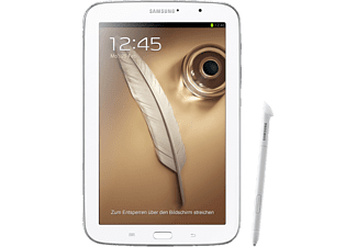SAMSUNG Galaxy Note 8.0 WiFi 16 GB WHITE GT-N5110 mit 8 Zoll, Android 4.1, Weiß
