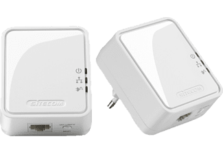 Mini Homeplug 500 Mbps Dual Pack LN-551