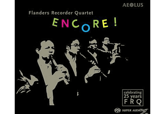 Flanders Recorder Quartet - Encore ! - Celebtrating 25 Years Flanders Recorder Quartet - (SACD Hybrid)