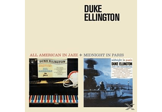 Duke Ellington - All American In Jazz+Midnight In Paris [CD]