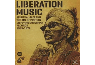 VARIOUS - Liberation Music - Spiritual Jazz And The Art Of Protest On Flying Dutchman Records [CD]