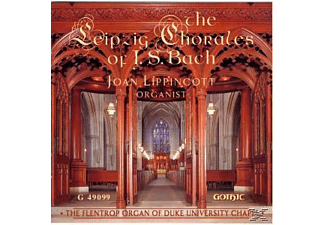 Joan Lippincott - The Leipzig Chorales Of J.S.Bach - (CD)