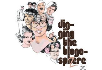 VARIOUS - DIGGING THE BLOGOSPHERE 1 & 2 - (CD)