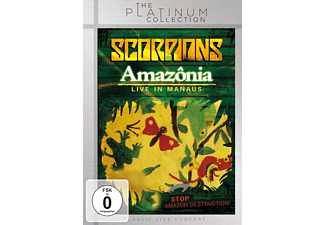 The Scorpions - AMAZONIA - LIVE IN THE JUNGLE [DVD]