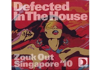 VARIOUS - Defected In The House: Zouk Out Singapore 10 - (CD)