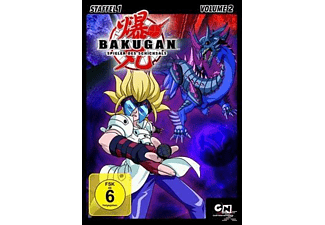 BAKUGAN BATTLE BRAWLERS - STAFFEL 1.2 [DVD]