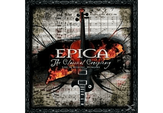Epica - The Classical Conspiracy-Live In Miskolc, Hungary - (CD)