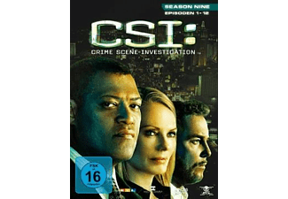 CSI: Crime Scene Investigation - Staffel 9.1 [DVD]