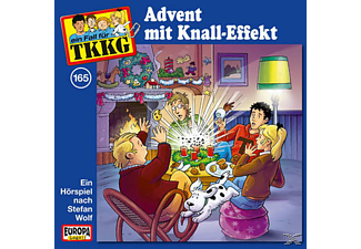 TKKG 165: Advent mit Knall-Effekt - (CD)