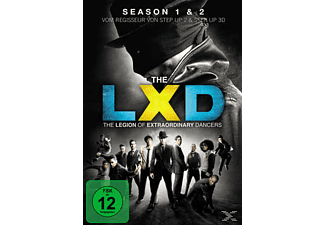 LEGION OF EXTRAORDINARY DANCERS 1+2.SEASON - (DVD)