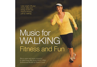 VARIOUS - Music For Walking, Fitness And Fun - (CD)