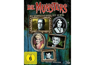Die Munsters - Komplett [DVD]