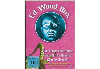 Ed Wood Box (3 DVDs) [DVD]