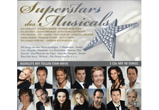Various - Superstars Des Musicals [CD]