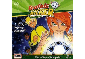 Teufelskicker 25: 1, 2, 3, Winter-Hexerei! - (CD)