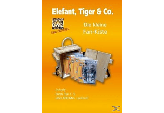 Elefant, Tiger & Co. - Teil 1-5 (Box) - (DVD)
