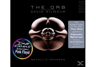 ORB,THE & GILMOUR,DAVID, Orb,The Feat.Gilmour,David - Metallic Spheres [CD]