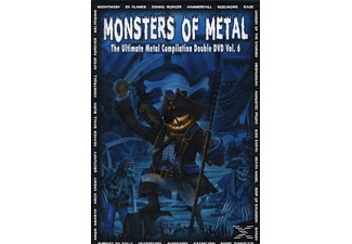 VARIOUS - Monsters Of Metal Vol.6 [DVD]