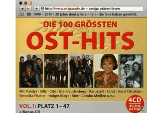 VARIOUS - Die Ultimative Ostparade-Top 100 Folge 1 [CD]