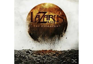 Lazarus Ad - THE ONSLAUGHT [CD]
