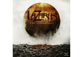 Lazarus Ad - THE ONSLAUGHT - (CD)