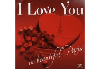 Various - I Love You In Beautiful Paris [CD]