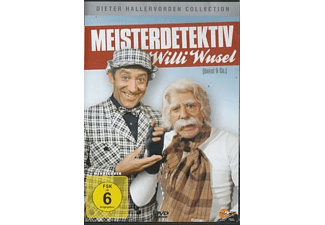Dieter Hallervorden Collection - Meisterdetektiv Willi Wusel [DVD]