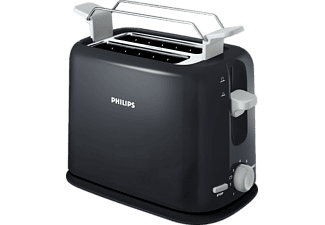 philips hd2567 20 daily collection toaster schwarz saturn. Black Bedroom Furniture Sets. Home Design Ideas