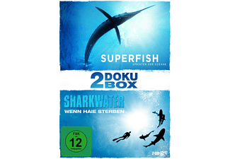 2-Doku-Box: Mit 'Sharkwater' und 'Superfish' [DVD]