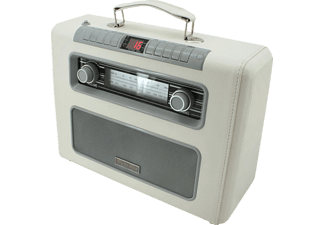 SOUNDMASTER RCD1500 Retro-Radio mit CD (Beige)