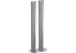 MAGNAT Needle Alu Super Tower 1 Paar, Standlautsprecher, 120 Watt, Silber