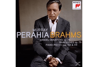 Perahia Murray - Handel Variations - Rhapsodies - Piano Pieces [CD]