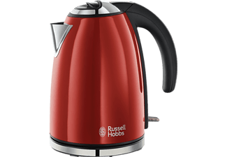 RUSSELL HOBBS 18941-70 Flame Red Wasserkocher Rot (2200 Watt)