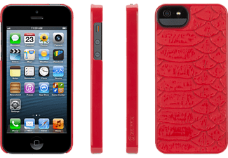 GRIFFIN GR-GB35526, Backcover, iPhone 5, Rot