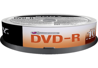 SONY DVD -R 4.7 GB x10 Spindle