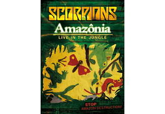 The Scorpions - Amazonia - Live In The Jungle (DVD)