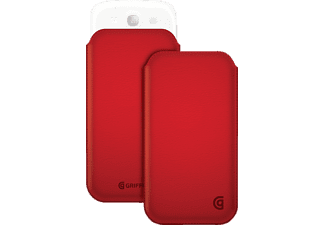 GRIFFIN GR-GB37920, Sleeve, Galaxy S4, Rot