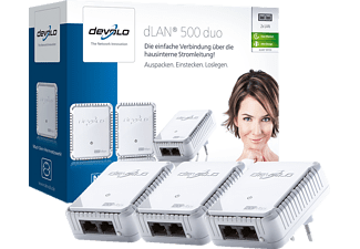 DEVOLO 9103 dLAN® 500 DUO Network Kit Powerline