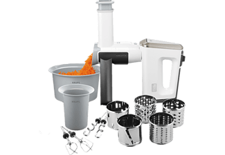 KRUPS Handmixer GN 9071 3 MIX 9000 SET WHITE COLLECTION