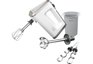 KRUPS Handmixer GN 9031 3 MIX 9000 DELUXE WHITE COLLECTION