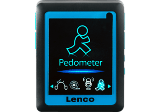 LENCO Podo-152 MP4 Player (4 GB, Blau)