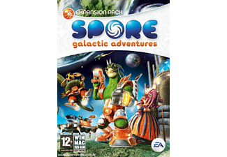 Spore Galactic Adventures Expansionspaket PC